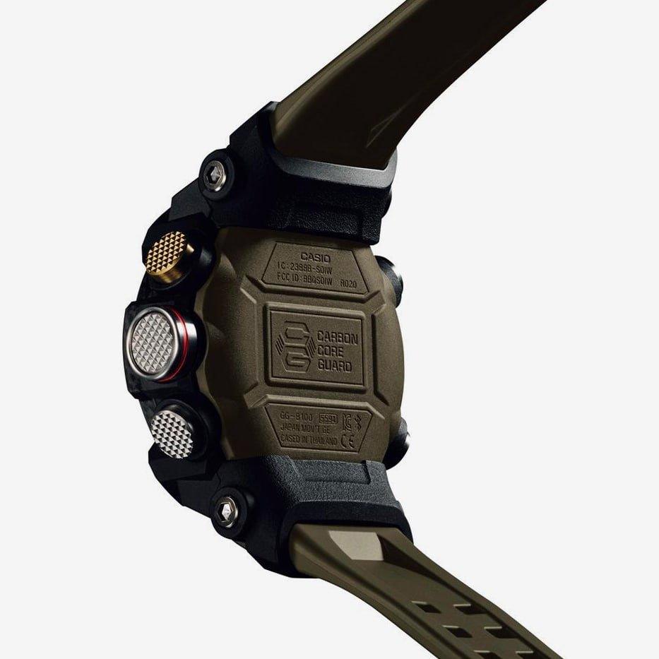 Konstrukcja zegarka G-Shock Mudmaster oparta jest na podwójnym deklu.
