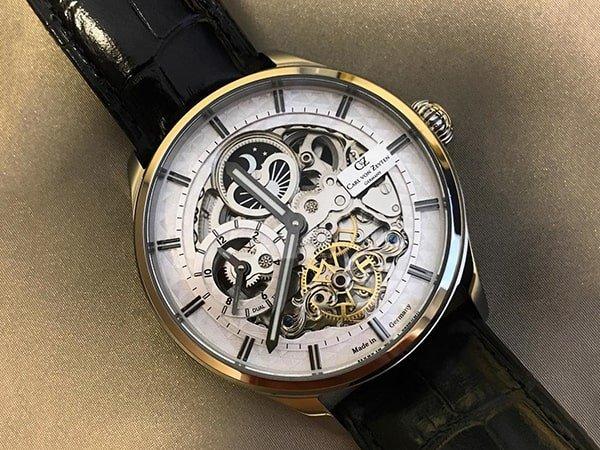 Niepowtarzalny design zegarków skeleton i zegarków open-heart