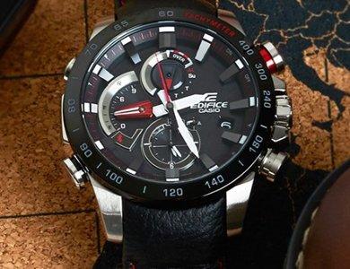 Nowości Casio Edifice - oficjalnego partnera Scuderia Toro Rosso