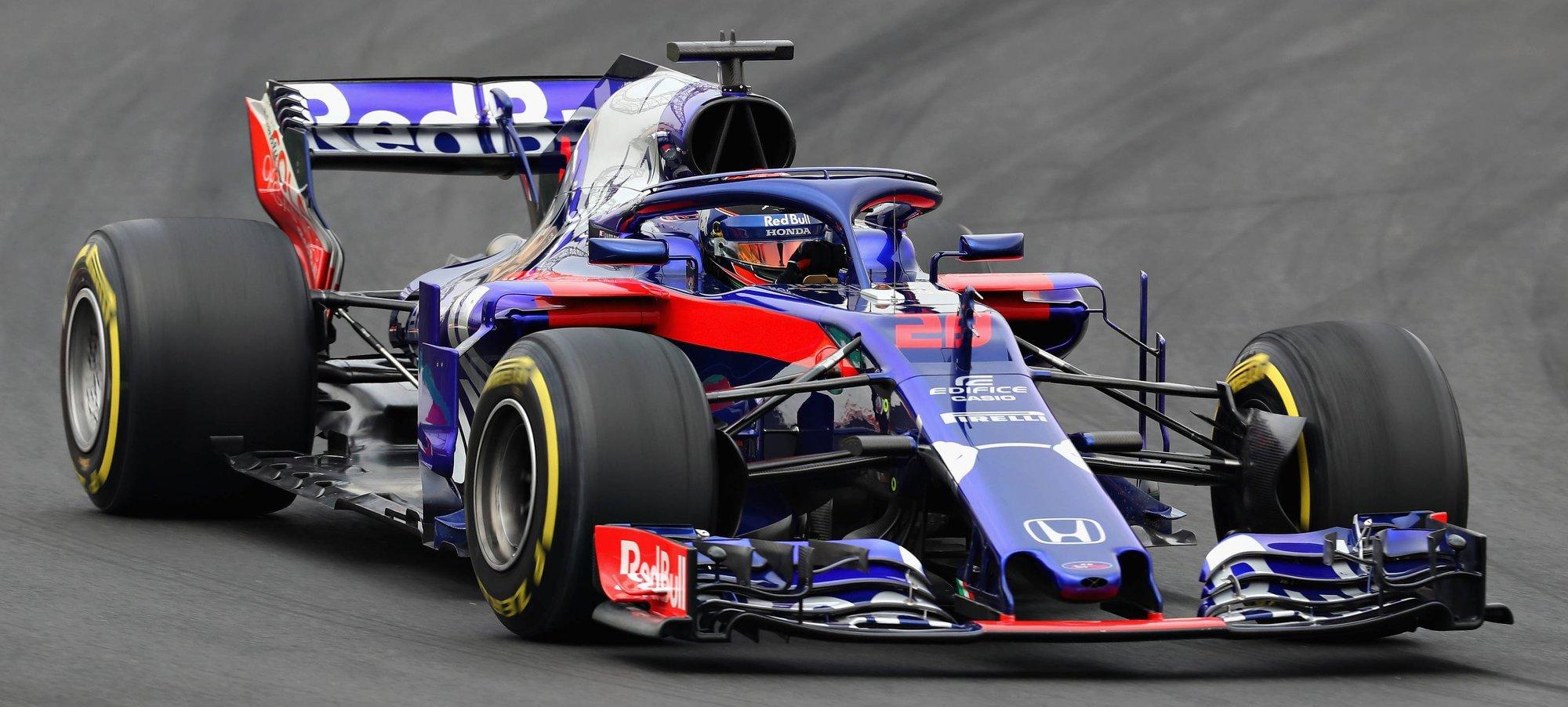 Nowy bolid F1 - Scuderia Toro Rosso.