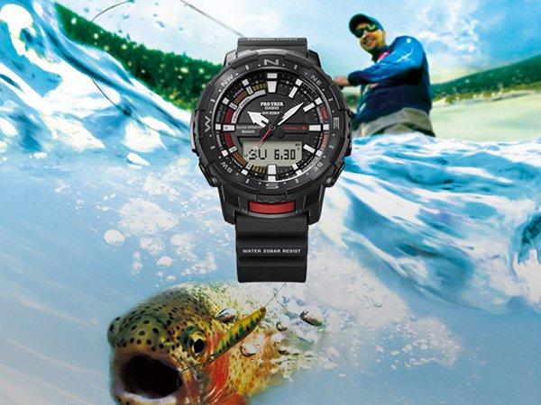 Zegarek Casio ProTrek PRT-B70 – doskonały pomysł na prezent dla wędkarza