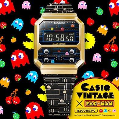 Powrót do przeszłości z nowym zegarkiem Casio Vintage i grą Pacman!