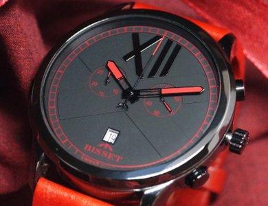 Ceramiczne zegarki męskie od marki Bisset