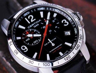 Certina DS Podium Lap Timer Chronometer i inne certyfikowane zegarki