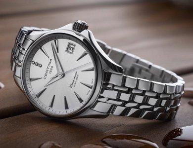 Zegarki Certina z diamentami