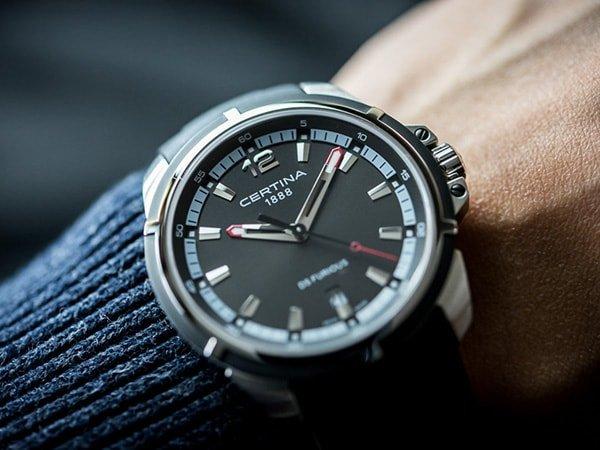 Szwajcarska jakość zegarków Certina DS Furious
