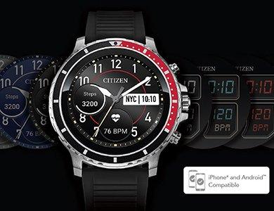 Pierwszy smartwatch Citizen CZ Smart - spektakularna nowość