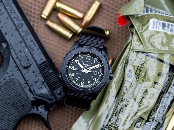 Idealna czytelność wskazań zegarków Traser P96 OdP Evolution