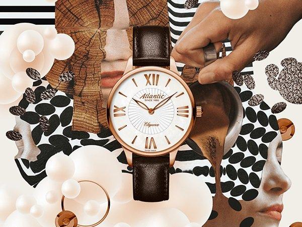 Ponadczasowa elegancka w damskich zegarkach Atlantic