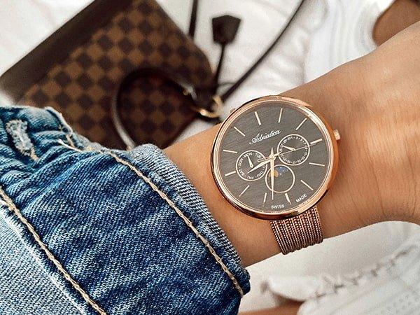 damskie zegarki Adriatica jako klasyka w dobrym stylu
