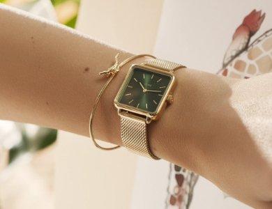 Damski zegarek na wiosnę według Cluse