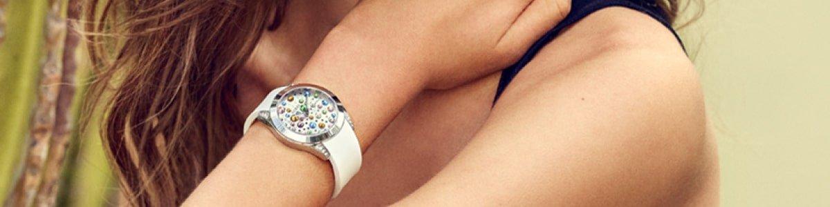 Damskie zegarki Guess.