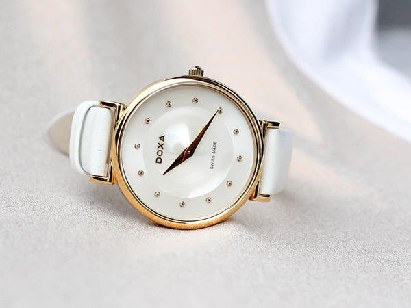 Niezawodna jakość zegarków damskich Doxa