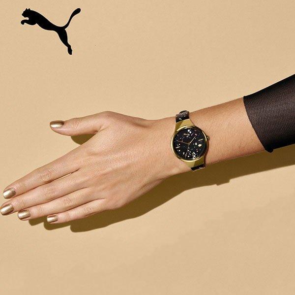 Zegarki Puma na pasku z tworzywa sztucznego