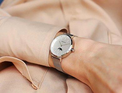 Niesamowite zegarki Obaku Denmark z fazami księżyca!