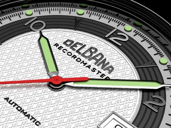 Niezwykłe detale w zegarku Delbana Recordmaster