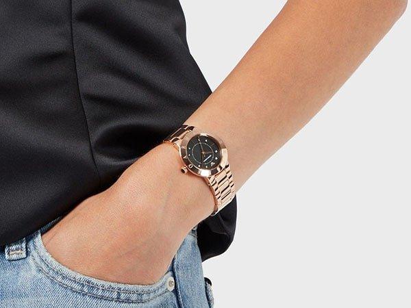Zegarki Emporio Armani na bransolecie klasycznej