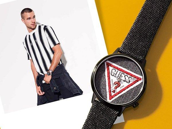 Designerskie zegarki Guess Originals dla każdego fana mody.