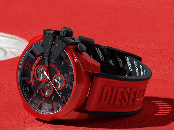 Design i technologia - zegarki diesel