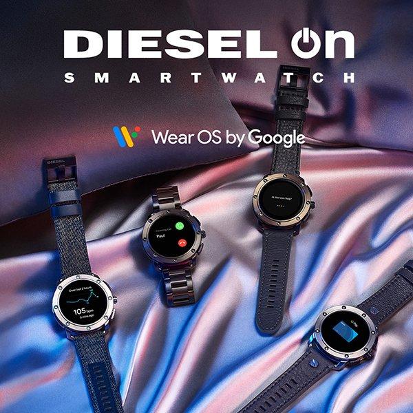 interaktywne zegarki Diesel On