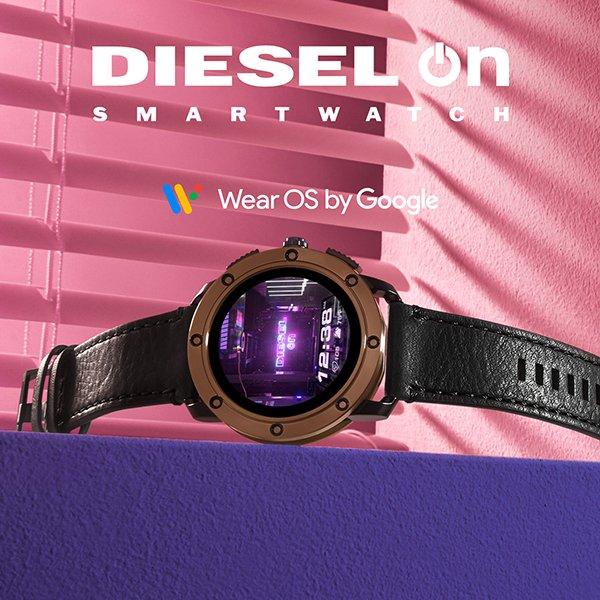 Smartwatche diesel on