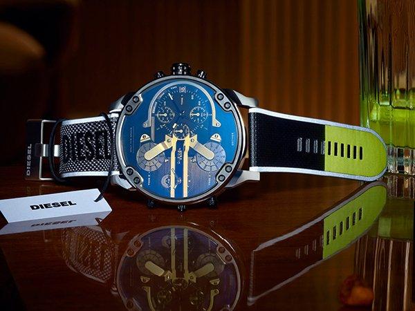 Innowacyjny design zegarków Diesel