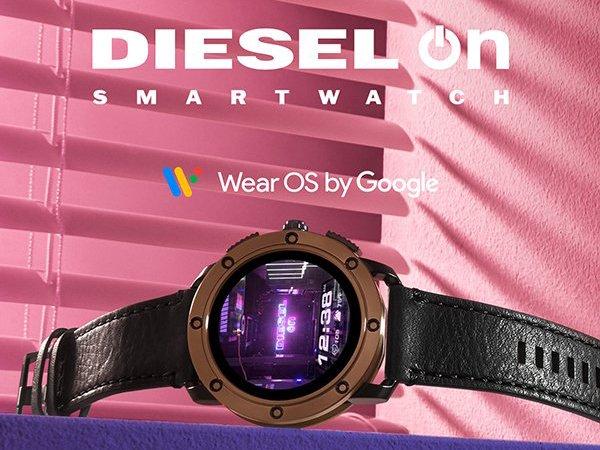 Diesel smartwatch idealny dla osób leworęcznych