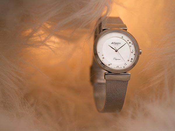 Bransoleta mesh w zegarkach Atlantic