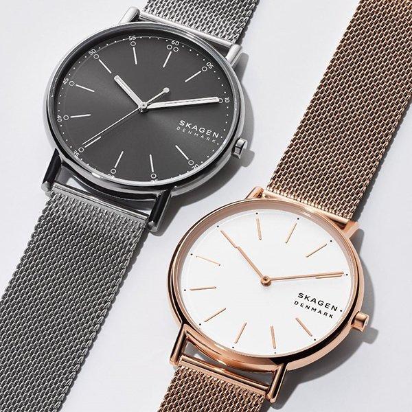 Minimalistyczne zegarki skagen
