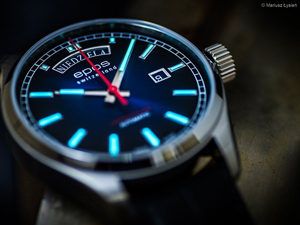 Niezwykły zegarek EPOS