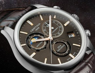 Fazy księżyca w zegarkach