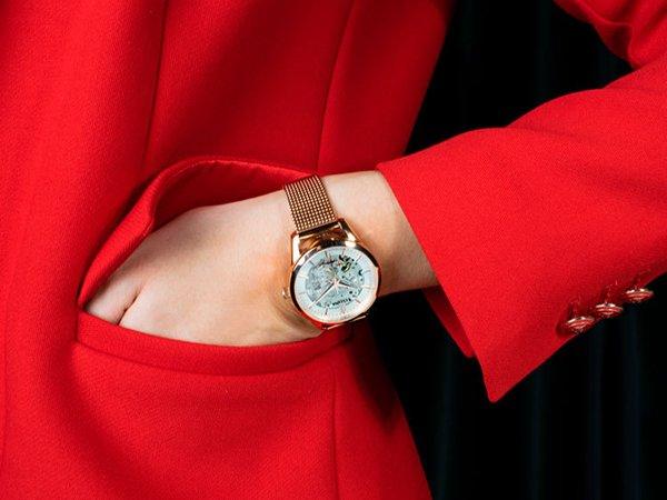 Wyrafinowane rzemiosło zegarków typu skeleton