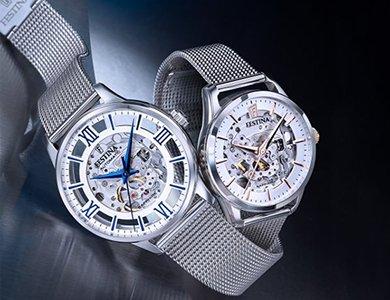 Festina Skeleton- zegarki wobec których nie przejdziesz obojętnie