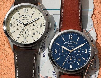 Fossil – zegarki modowe zaskakujące designem. Odkryj amerykańskie zegarki Fossil