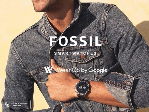 Proste, szykowne zegarki Fossil