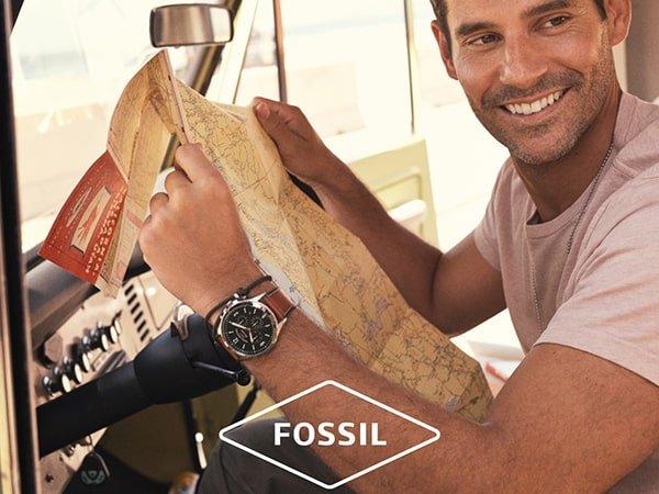 Słynne kolekcje męskich zegarków Fossil