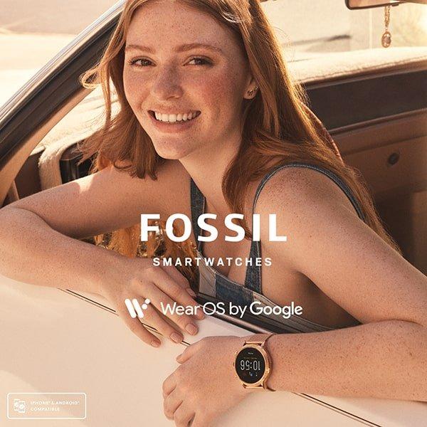 Funkcjonalność zegarków damskich Fossil