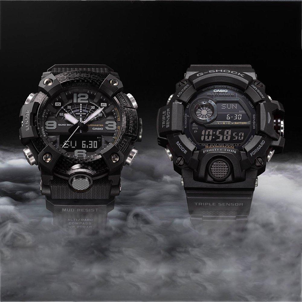 Dwa nowe modele G-SHOCK Black Out - Mudmaster oraz Rengeman