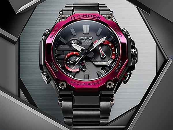 Zegarki G-SHOCK MTG-B2000 – jeszcze lżejsze, jeszcze wytrzymalsze