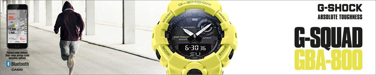 Wytrzymałe i designerskie zegarki Casio G-Shock
