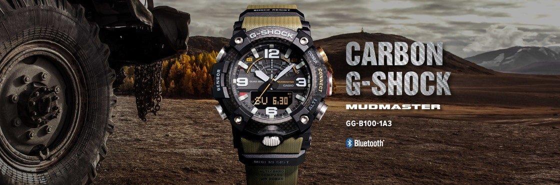 G-shock mudmaster czyli jeden z bardziej wytrzymałych zegarków.