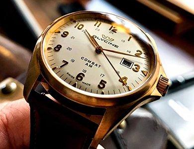 Militarny charakter zegarków Glycine Combat 6 Classic