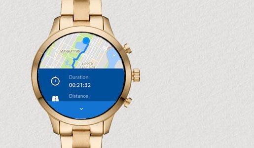 Funkcja GPS wyznacza i śledzi twoja lokalizację oraz mierzy przebyta odległość.