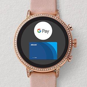 Google Pay w smartwatchu Fossil
