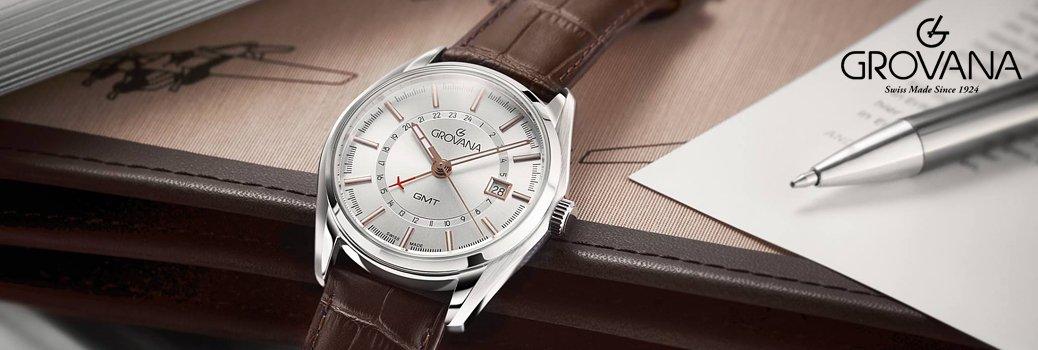 Precyzyjnie wykonane zegarki Grovana.