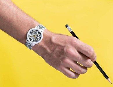 Oryginalne zegarki Guess Originals z grafiką Timothy Goodmana