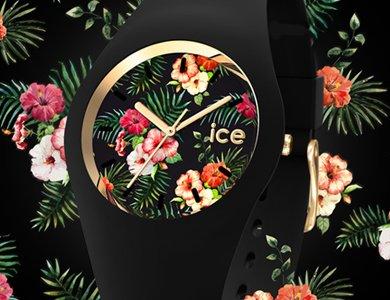 Zegarki z kwiatowej kolekcji ICE Flower