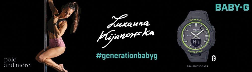 Nowa ambasadorka Baby-G - Zuzanna Kijanowska