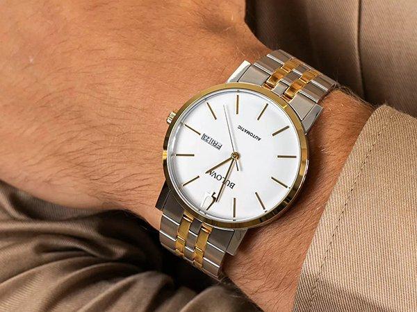 Elegancki jak i klasyczny zegarek Bulova