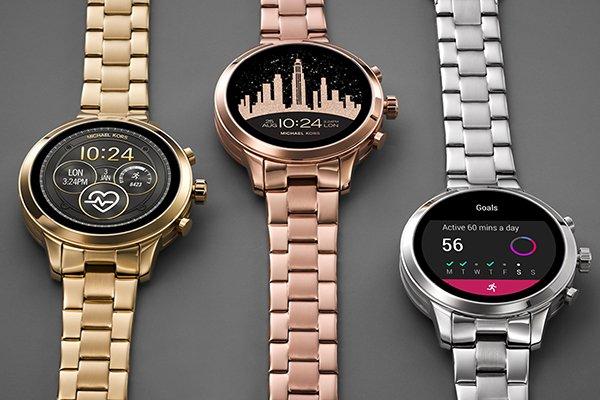 Stylowe zegarki Smartwatch Michael Kors.